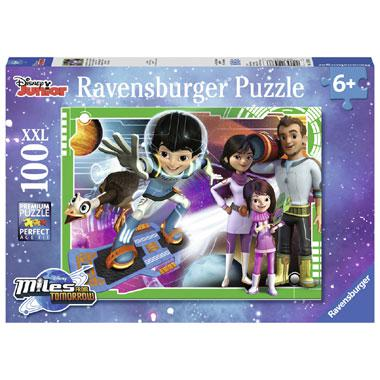 Ravensburger XXL kinderpuzzel Disney Junior Miles van Morgen 100