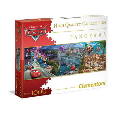 Clementoni Disney Panorama legpuzzel Cars 1000 stukjes