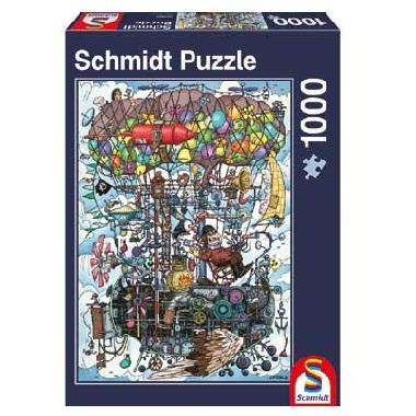 Schmidt legpuzzel Gumperts geweldig Vliegende Machine 1000 stukj