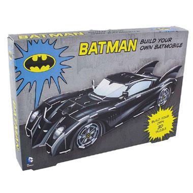Dc comics 3D kinderpuzzel Bouw je eigen Batmobiel 72 stukjes van
