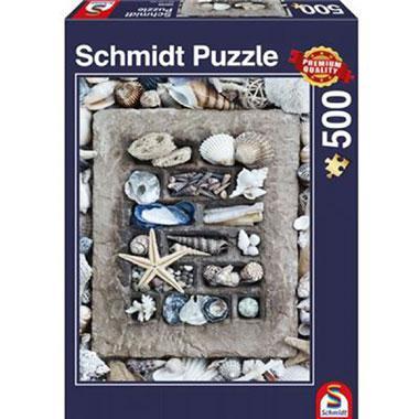 Schmidt legpuzzel Strandgoed 500 stukjes