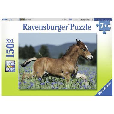 Ravensburger puzzel Veulen in de Weide 150 stukjes vanaf 7 jaar