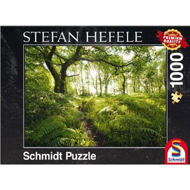Schmidt legpuzzel Het betoverde Pad 1000 stukjes