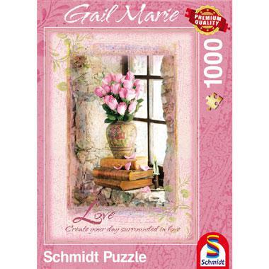 Schmidt Gail Marie legpuzzel Love 1000 stukjes