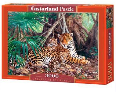 Selecta Castorland legpuzzel Jaguars in the Jungle 3000 stukjes