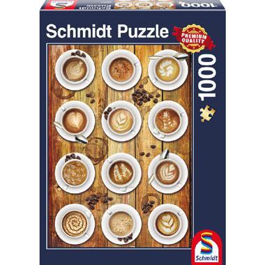 Schmidt legpuzzel Koffie kunstwerk 1000 stukjes