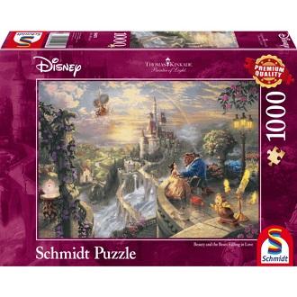 Schmidt legpuzzel Disney Belle en het Beest 1000 stukjes