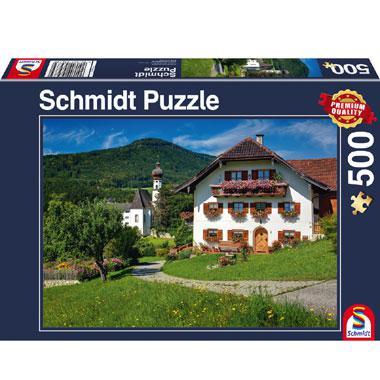 Schmidt legpuzzel Vakantie in Klooster Hoglworth Oberbayern 500