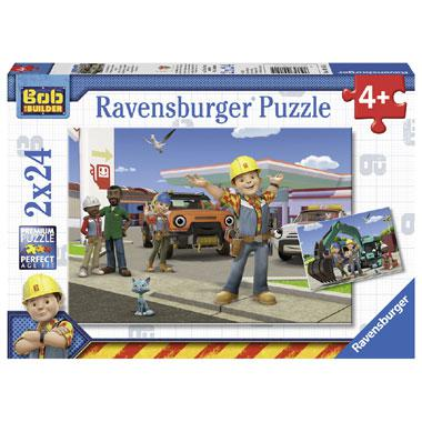 Ravensburger kinderpuzzel Bob de Bouwer 24 stukjes vanaf 4 jaar