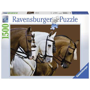 Ravensburger puzzel Elegante Paarden 1500 stukjes