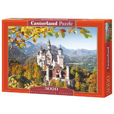 Selecta Castorland legpuzzel Slot Neuschwanstein Duitsland 3000