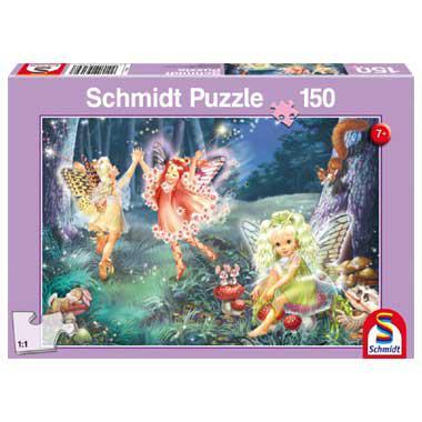 Schmidt kinderpuzzel Fairy Dance 150 stukjes vanaf 7 jaar