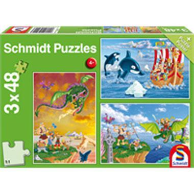 Schmidt kinderpuzzel Vikingen 48 stukjes vanaf 4 jaar