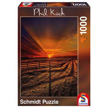 Schmidt Phil Koch legpuzzel de stilte van de avond 1000 stukjes