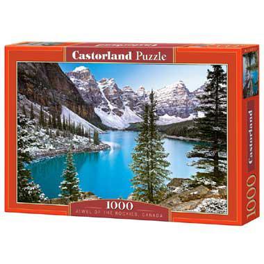 Selecta Castorland legpuzzel The Jewel of Rockies Canada 1000 st