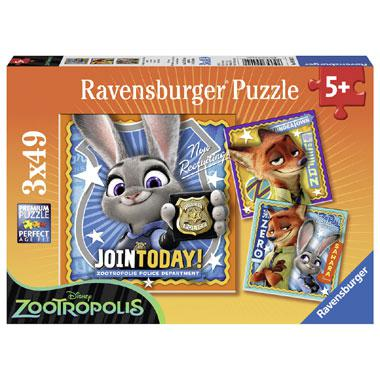 Ravensburger Disney kinderpuzzel Zootropolis Join Today 49 stukj