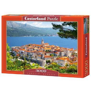 Selecta Castorland legpuzzel Korcula in Kroatie 3000 stukjes