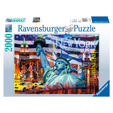 Ravensburger legpuzzel New York Collage 2000 stukjes