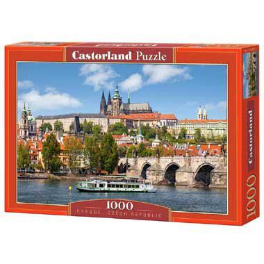 Selecta Castorland legpuzzel Praag in Tsjechie 1000 stukjes vana