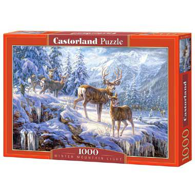 Selecta Castorland legpuzzel Winter Mountain 8 stukjes vanaf 8 j