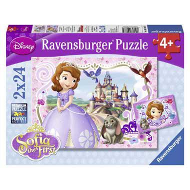 Ravensburger kinderpuzzel Disney Prinses Sofia Koninklijke Avont