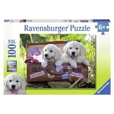 Ravensburger XXL kinderpuzzel Even op Adem Komen 100 stukjes van