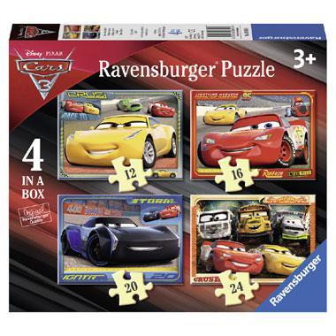 Ravensburger Disney cars 3 kinderpuzzel Lets Race 24 stukjes van