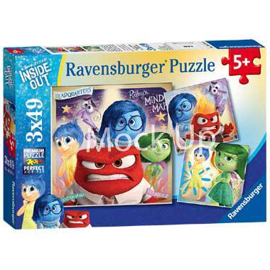 Ravensburger Inside Out kinderpuzzel Emotioneel Avontuur 49 stuk