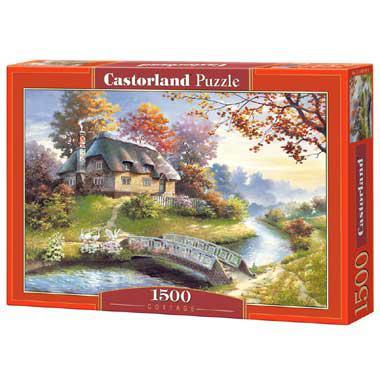 Selecta Castorland Legpuzzel Cottage 1500 stukjes vanaf 9 jaar