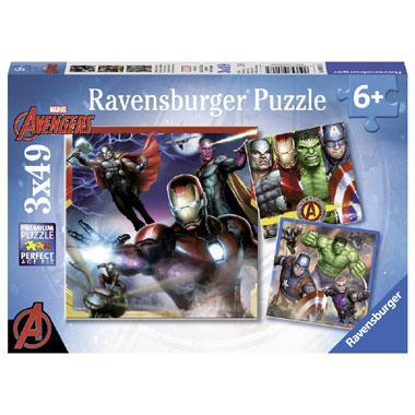Ravensburger kinderpuzzel Marvel Avengers 49 stukjes vanaf 6 jaa
