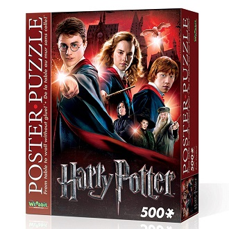Wrebbit poster puzzel harry potter zweinsteins hogeschool 500 st