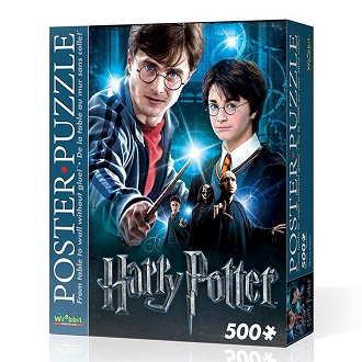 Wrebbit poster puzzel harry potter 500 stukjes