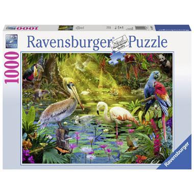 Ravensburger legpuzzel Vogel Paradijs 1000 stukjes