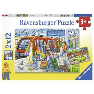 Ravensburger kinderpuzzel Instappen 12 stukjes vanaf 3 jaar