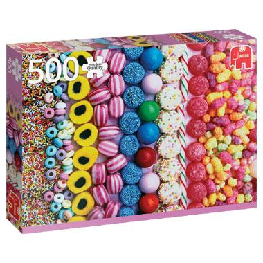 Jumbo legpuzzel Snoepjes 500 stukjes