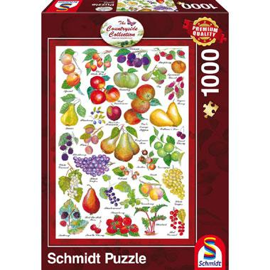 Schmidt Country side Collection legpuzzel Vruchten 1000 stukjes