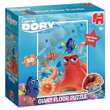 Jumbo Disney vloer kinderpuzzel Finding Dory 50 stukjes vanaf 4