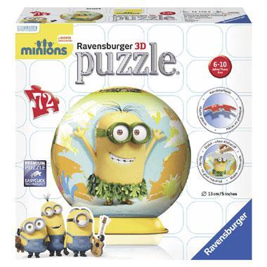 Ravensburger 3D puzzel Minions 72 stukjes vanaf 6 jaar