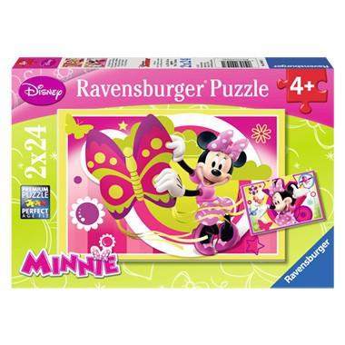 Ravensburger Disney puzzel Minnie Mouse 24 stukjes vanaf 4 jaar