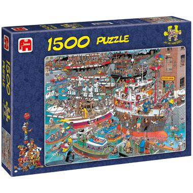 Jumbo Jan van Haasteren legpuzzel De Haven 1500 stukjes