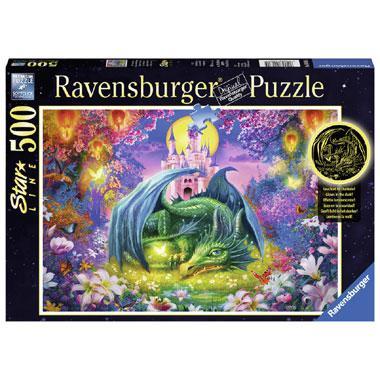 Ravensburger starline legpuzzel In het Drakenbos 500 stukjes