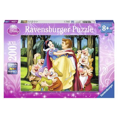 Ravensburger Disney XXL kinderpuzzel Sneeuwwitje en de Prins 200