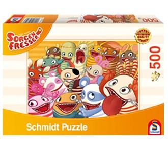 Schmidt puzzel De Zorgenvriendjes 500 stukjes