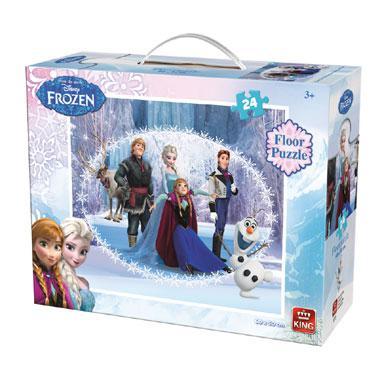 King vloerpuzzel Disney frozen 24 stukjes vanaf 3 jaar