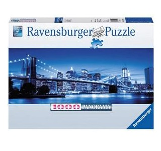 Ravensburger legpuzzel Verlicht New York 1000 stukjes