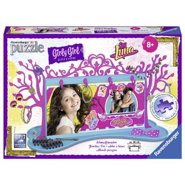 Ravensburger Girly Girl 3D puzzel Disney Soy Luna Sieradenboom 1