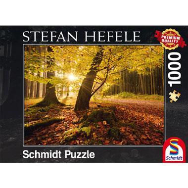 Schmidt Stefan Hefele legpuzzel Magische Herfst 1000 stukjes