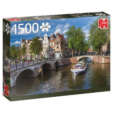 Jumbo legpuzzel Herengracht Amsterdam 1500 stukjes