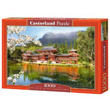 Selecta Castorland legpuzzel Replica of Old Byodion Temple 1000
