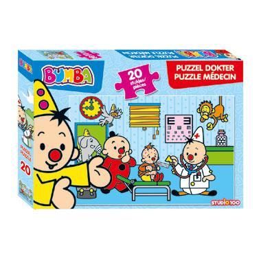 Studio 100 Bumba puzzel Dokter 20 stukjes vanaf 3 jaar